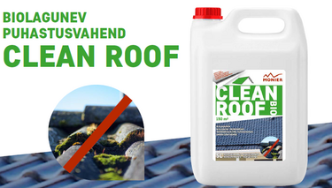 Clean Roof katuse ja fassaadipuhastus vahend