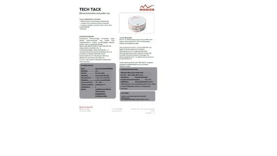 Tech Tack tihendusteip tooteleht