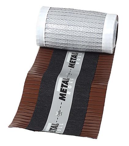 Metal Roll harjatihend pruun