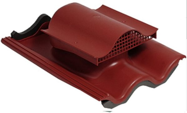 Kivikatuse tuulutuskivi plastik punane