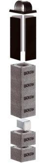 Isokern moodulkorstna komplekt 200mm 6,5m