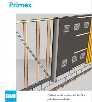 Primex tuuletõke ja aluskate